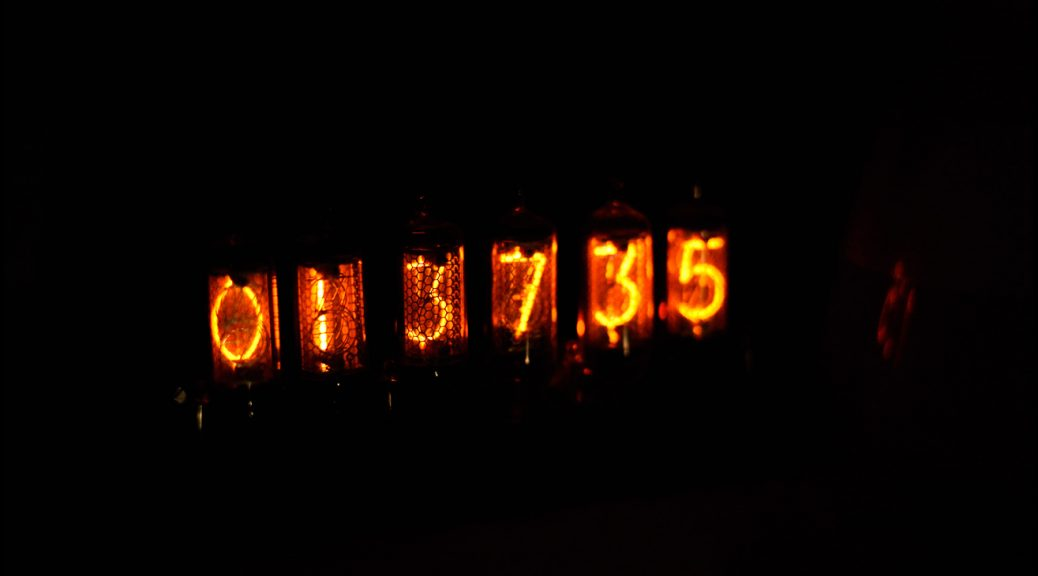 My nixie clock